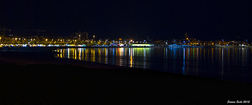 Alghero at night
