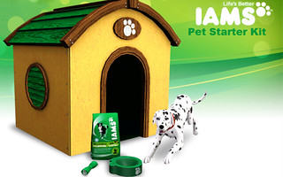 Iams Sculpture Pet Starter Kit - Store - The Sims™ 3