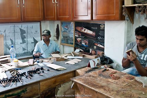 Building mini oceanfarers