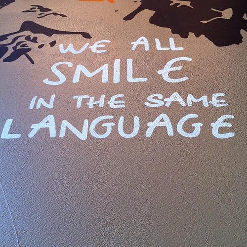 #smile #love - Quote at Bristol Giraffe