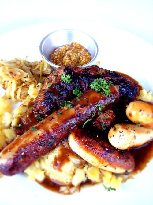 The ULTIMATE Bangers and Mash