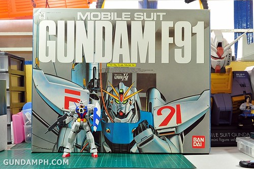 Gundam F91 1-60 Big Scale OOTB Unboxing Review (35)