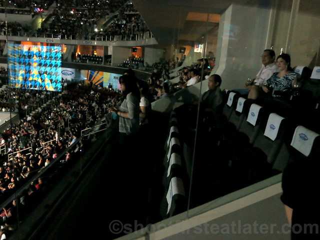 SM Mall of Asia Arena corporate suite