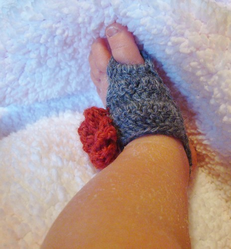 Soleless Baby Sandal