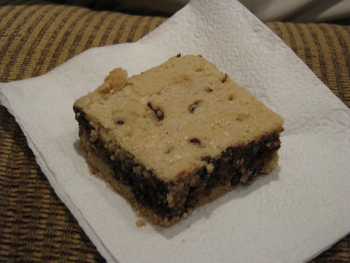 Fair Trade chocolate chip brownie!