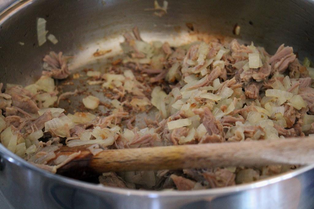 pan fry half of it