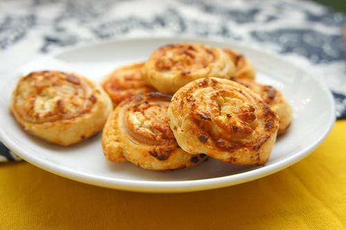 Mini-Pizzaschnecken