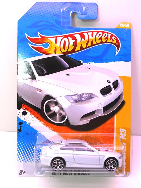 hot wheels '10 bmw m3 wht (1)