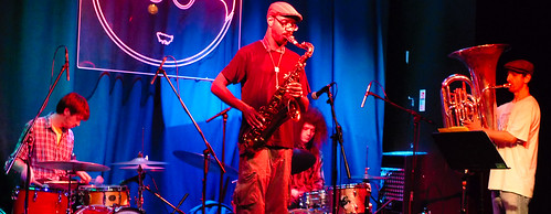 SONS OF KEMET + ANTON HUNTER TRIO @ Band on the Wall, Manchester 19.7.12