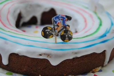 London 2012 Party cake