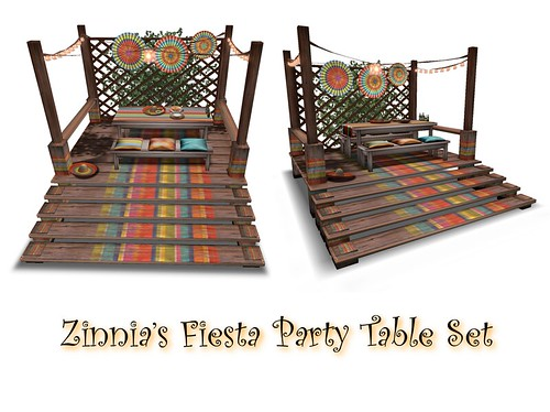 Zinnia's Fiesta Party Deck
