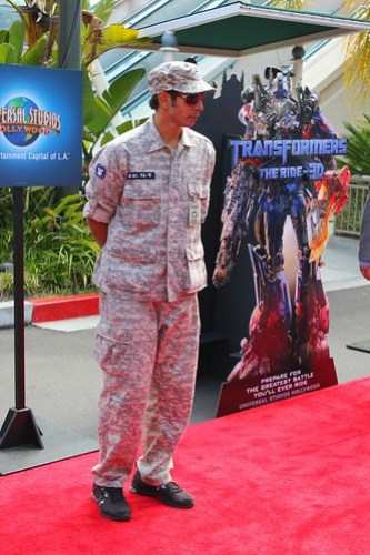 Transformers: The Ride 3D grand opening