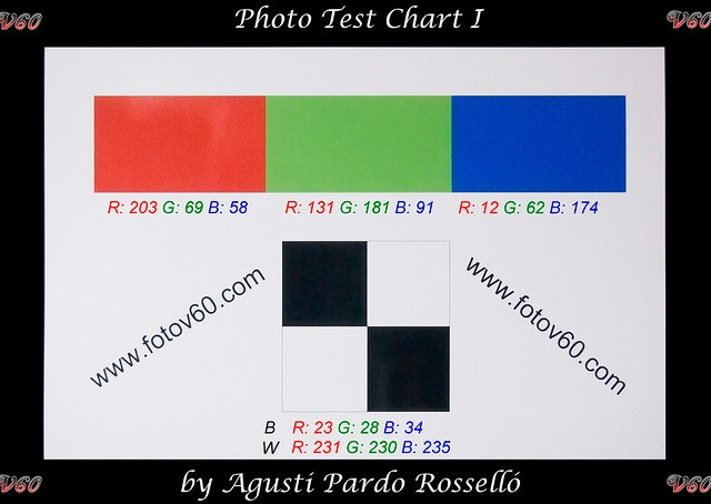 Carta de color - Olympus E-PM1 ISO 3200 color