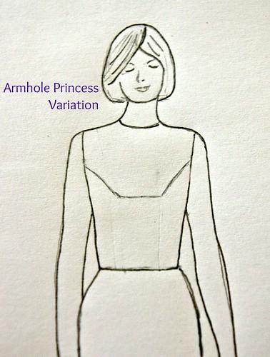 Armhole Princess Variation
