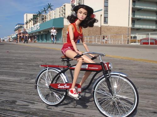 Biking on the Boardwalk