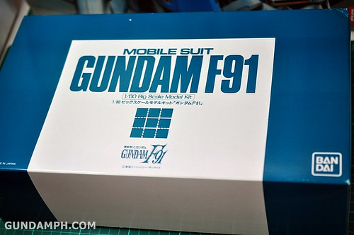 Gundam F91 1-60 Big Scale OOTB Unboxing Review (19)