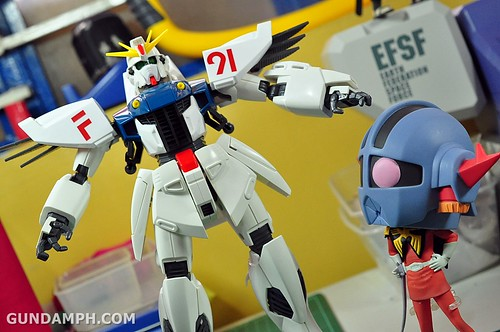 Gundam F91 1-60 Big Scale OOTB Unboxing Review (85)