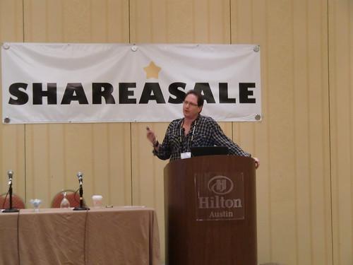 Evan Weber speaking at Affiliate Summit Central 2012