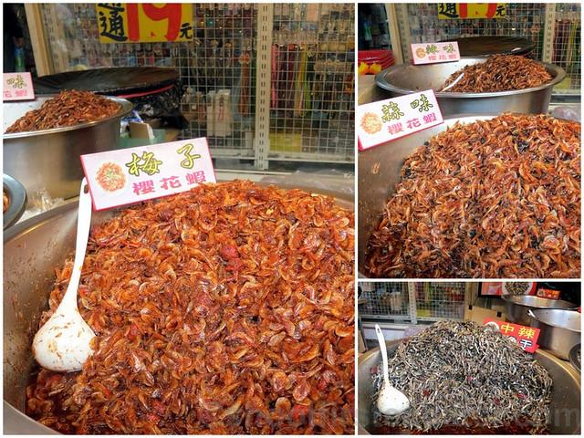 Tamsui, Taipei- dried shrimp