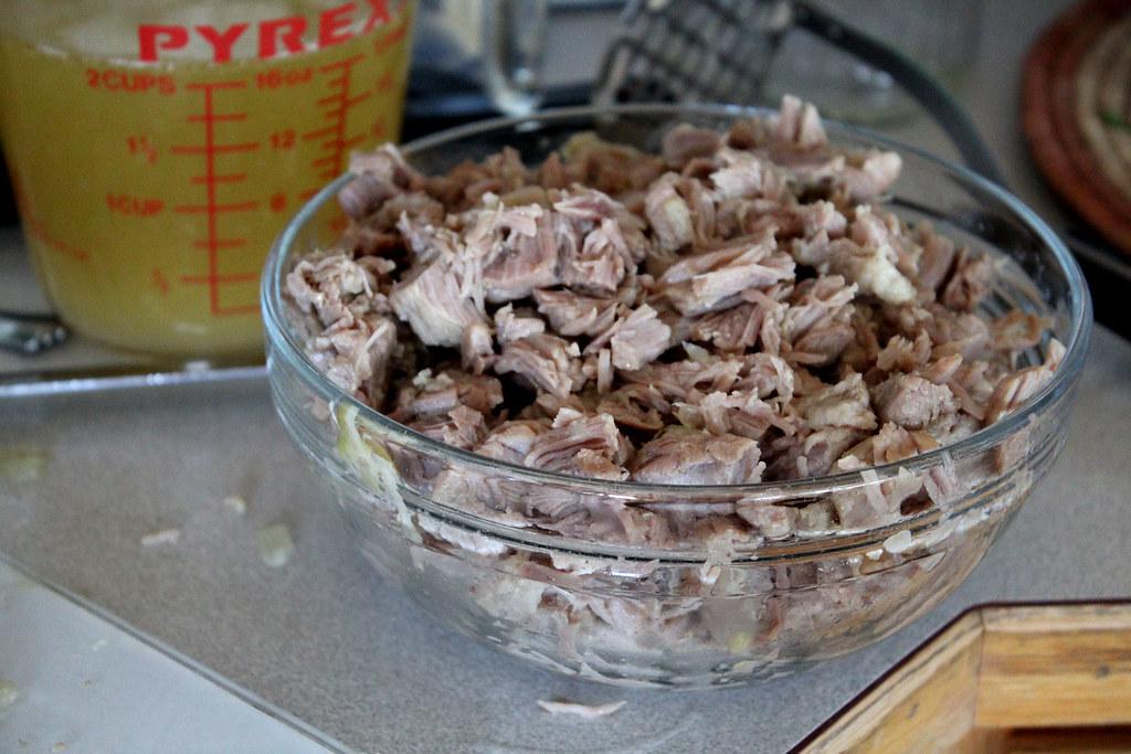 shredded up
