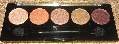 L.A. Colors 5 Metallic Eyeshadow Desert Dune