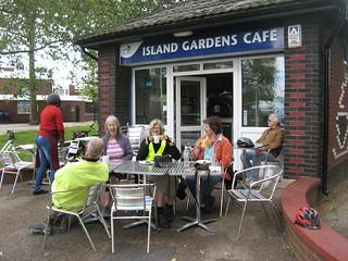15. Island Gardens Cafe