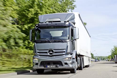 New: Mercedes Benz Antos