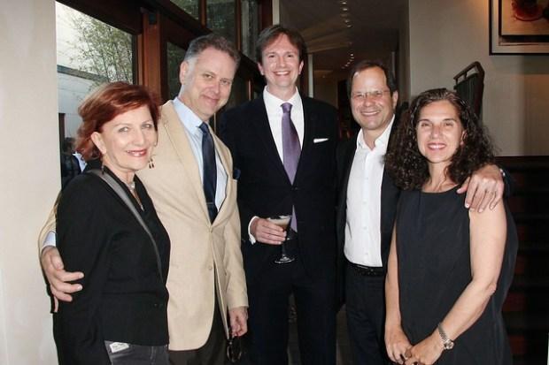 Kathleen Milne, Eddie Muller,  Jay Welsh, Randall Kline and Teresa Panteleo