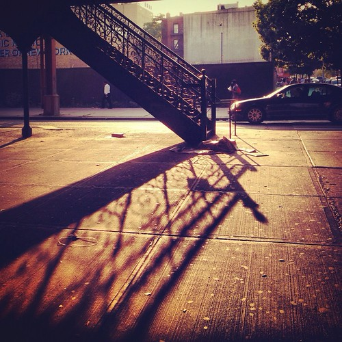 Stairshadow by Eleven ~ can't be in two places at once...