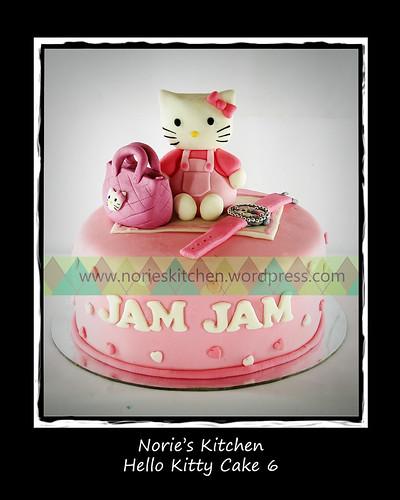 Norie's Kitchen - Hello Kitty Cake 6 by Norie's Kitchen
