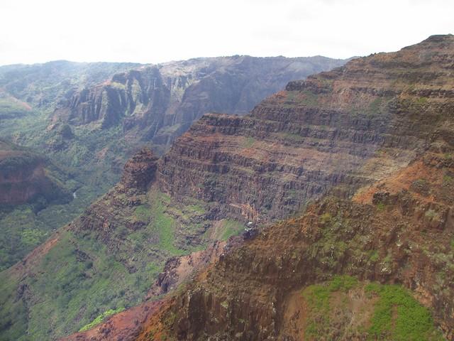 Waimea Canyon from heli 1