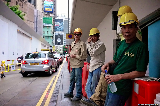 The contractor workers