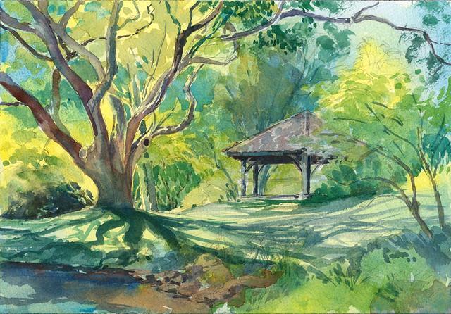 Sketchbook ~ National Botanical Gardens 3