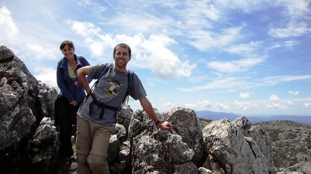 En la cima del Coarzagal