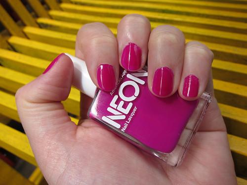 Neon Violet Polish