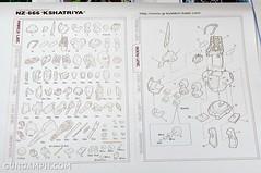 1-100 Kshatriya Neograde Version Colored Cast Resin Kit Straight Build Review (6)