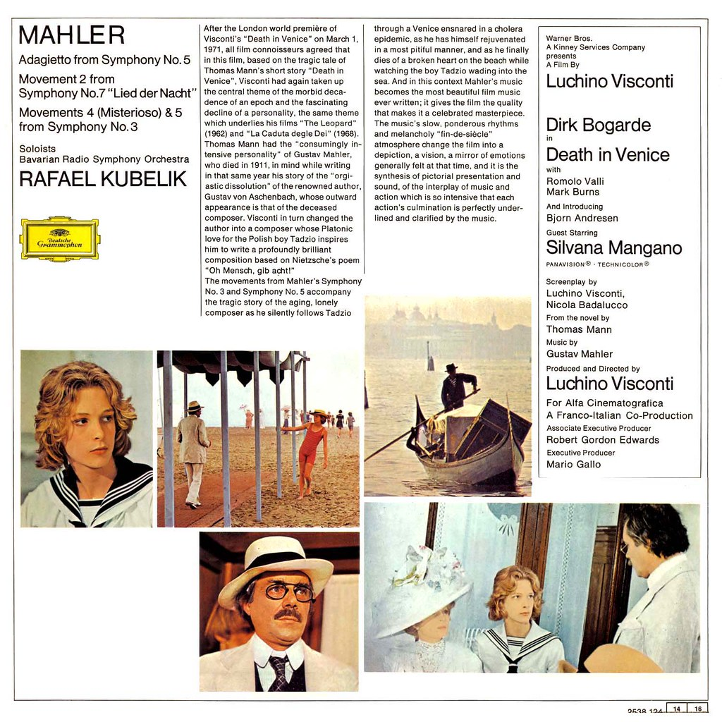 Gustav Mahler - Death in Venice
