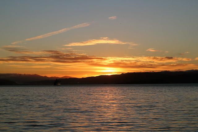Thursday: sunrise