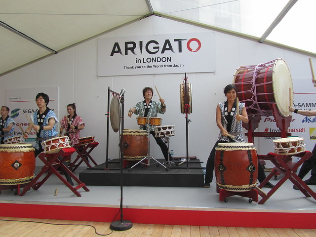 Joji Hirota's Taiko Ensemble