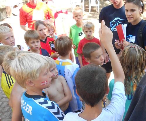 kids marathon at camping ca savio in cavallino treporti: roll call