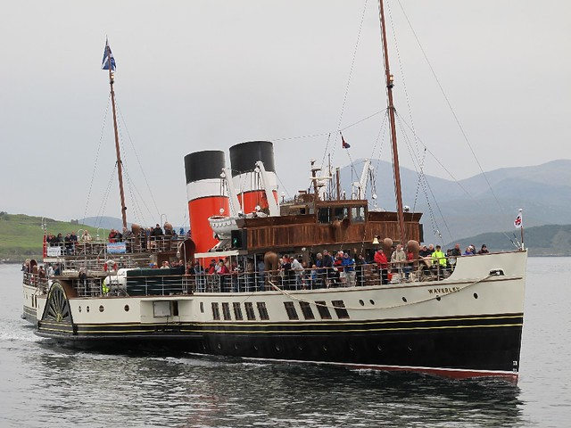 PS Waverley trip - Kyle to Raasay