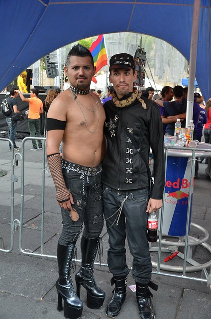 Gay metal couple