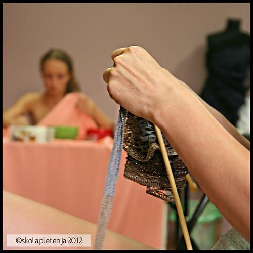 ruffle scarf workshop