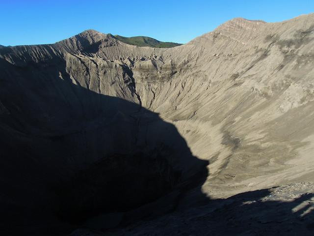 Mt. Bromo's crater