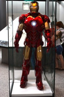 Iron Man at the Royal Armouries, Leeds
