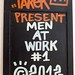 Men at work board #1