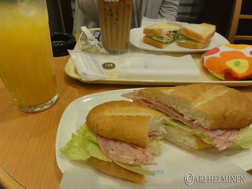 Breakfast at Doutor