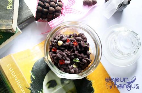 Cookies free gluten ketan hitam