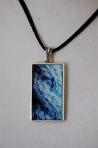 Knitting Cable Pendant