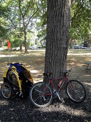 burley bike